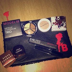 Eyeshadow and Betty Boop Makeup Bag Bundle